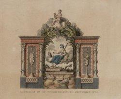 Illuminatie op de Noordermarkt, Te Amsterdam 1795