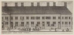 ''t Huiszitten-Weduwen-Hof, van voren