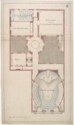 Prijsvraagontwerp voor gebouw Felix Meritis, Keizersgracht 324, blad C
