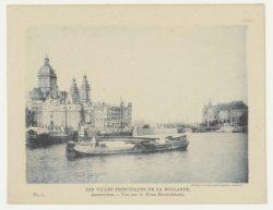 Het Open Havenfront en de Prins Hendrikkade, gezien in westelijke richting