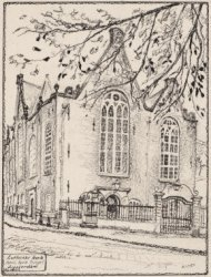 Lutherse kerk   Spui, hoek Singel   Amsterdam   Ao. 1633