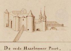 De oude Haarlemmer Poort