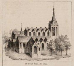 De Oude Kerk in 1544