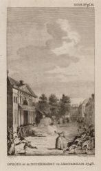 Oproer op de Botermarkt te Amsterdam 1748