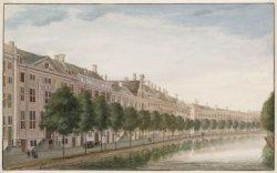 De evenzijde van de Gouden Bocht van de Herengracht