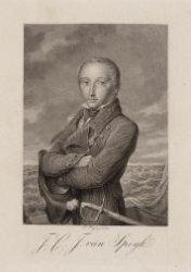 Portret van Jan Carel Josephus van Speijk (1802-1831)