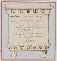 Gedenkteken voor J.C.J. van Speijk in het Burgerweeshuis