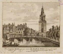 De Ian Roon Poorts Tooren, op de Cingel; werd gebruykt tot een gevangen Tooren