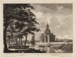 Plantage Muidergracht en gezicht op de nieuw gebouwde Muiderpoort. Datum voorste…