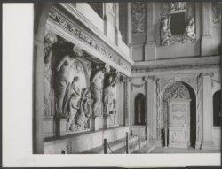 Nieuwezijds Voorburgwal 147, Paleis op de Dam, interieur van de Vierschaar met k…