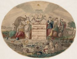 Prent ter gelegenheid van het huwelijk op 22 maart 1801 van Cornelis Uhlenbroek …