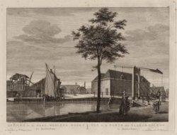 Ophaalbrug over de Lijnbaansgracht gelegen tegenover de Gietersstraat ter hoogte…