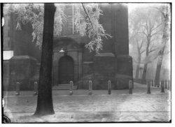 Poortje in de zuidgevel van de Westerkerk