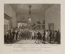 Deputatie door den Colonel I. van Goudoever De Heeren P. Witmond, en H. van Blom…