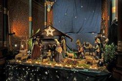 Kerststal uit 1860 in de rooms-katholieke Onze Lieve Vrouwekerk, Keizersgracht 2…