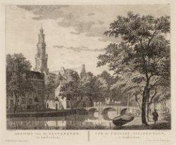 GEZICHT VAN DE WESTERKERK