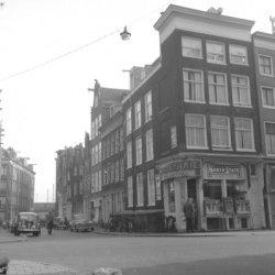 Haarlemmerstraat 94 (ged.) - 96 v.r.n.l. geheel rechts, links van de hoek Buiten…
