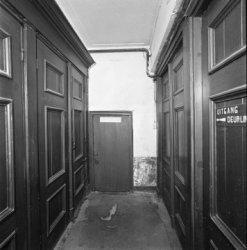 Keizersgracht 102, voormalige Remonstrantse schuilkerk de Rode Hoed, interieur