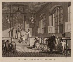 De Armenische Kerk, te Amsterdam