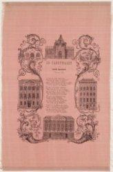 De Nachtwacht Aan Amstels Ingezetenen. 1 Januarij, 1854