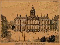 Amsterdam: De Dam met Koninklijk Paleis