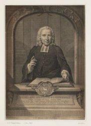 Portret van Luthers predikant Wilhelmus Agustus Klepperbein (1704-1786)