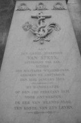 Dam 12, Nieuwe Kerk, praalgraf Jan Carel Josephus van Speyk