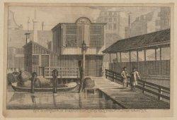 ''t Comptoir van St. Pieters Gild, op de Groote Vismarkt tot Amsterdam. Ao. 1769