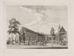 De Nieuwe Koornbeurs, in 1786
