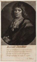Portret van bouwkundige Adriaan Dorsman (1625-1682)