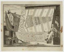 Burgerwachtbriefje waarop afgebeeld de wijkkaart met de oproep voor Hendrik Heus…