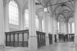 Dam 12, Nieuwe Kerk, interieur