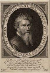 Portret van doopsgezind predikant Lubbert Gerritsz (1535-1612)