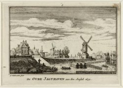 De Oude Jachthaven aan den Amstel 1652