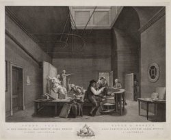 Teken Zaal in het Gebouw der Maatschappijë Felix Meritis binnen Amsterdam