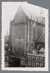 Exterieur, Nieuwe Kerk, Dam 12. Achterzijde Nieuwezijds Voorburgwal 143