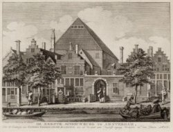 De eerste schouwburg te Amsterdam