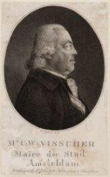 Portret van advocaat Carel Wouter Visscher (1743-1802), pensionaris en sinds 179…