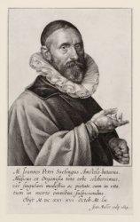Portret van musicus Jan Pietersz Sweelinck (1562-1621), organist van de Oude Ker…