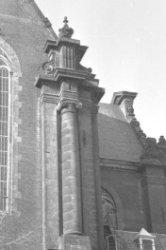 Prinsengracht 279, Westerkerk, detail van de gevel aan de zijde van de Westermar…