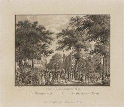 De Bloemmarkt | Le Marché aux Fleurs. Vue d'Amsterdam No. 16