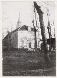 pastorie op de begraafplaats