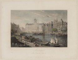 Amsterdam. The Damrak, Palace, etc