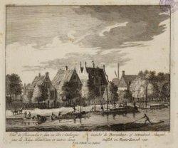 Gezicht de Beerenbeyt: of Uitrechtsch, Haagsch, Delfsch en Rotterdamsch veer