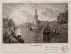 Amsterdam. Mont-Alban's toren