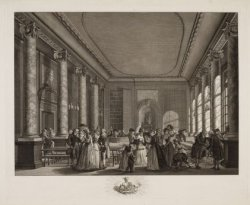 Gehoor Zaal in het gebouw der Maatschappyë Felix Meritis binnen Amsterdam