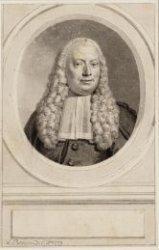 Portret van Mr. Egbert de Vrij Temminck (1700-1785), burgemeester van Amsterdam …
