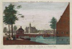Vue de la Porte de Leyden à Amsterdam