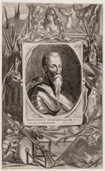 Portret van Hertog van Alva Ferdinandus Alvares van Toledo (1507-1582)