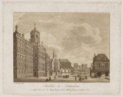 Stadhuis te Amsterdam
